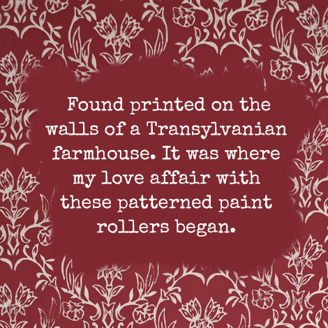 Printed Paint Rollers the rollers – the painted house