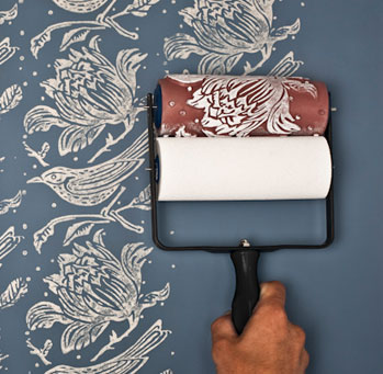 Wallpaper Paint Roller the rollers – the painted house