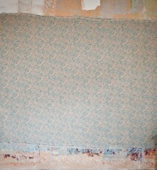 Design roller no.7 on Ecotale linen using F&B dead flat paint