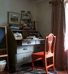 By Clare Richardson for Country Living magazine. Design no.5 using on linen for curtains