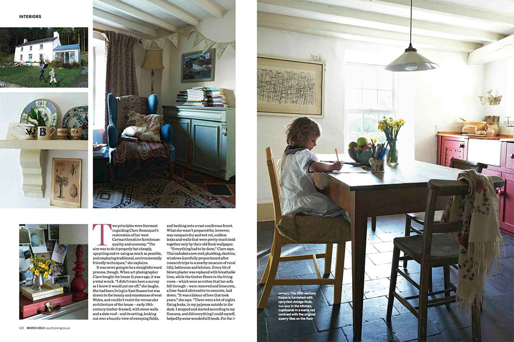 Country Living spread 2